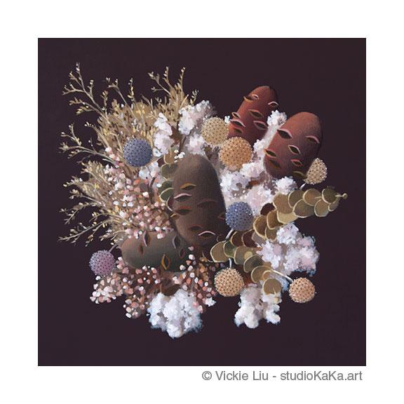 Australian Wildflower Art Print