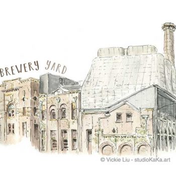 Brewery Yard Architecture Art