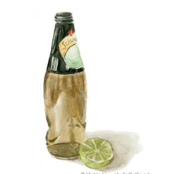 Ginger Ale Drink Wall Art