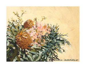 Australian Botanical Art Print