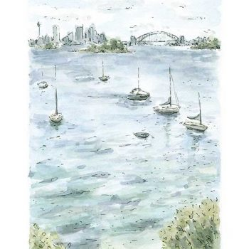 Hermitage Foreshore Sydney Harbour Art