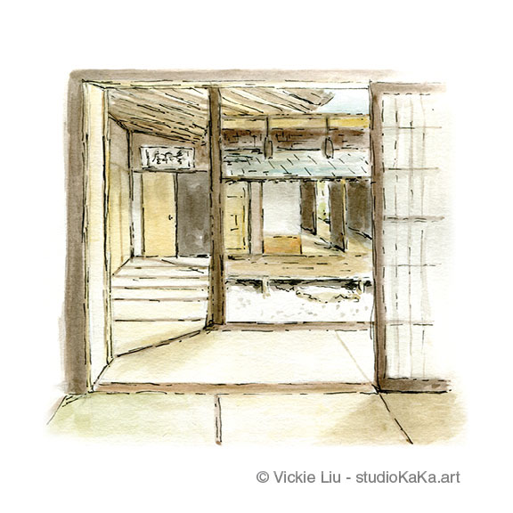 Tatami Japanese Room Art Print