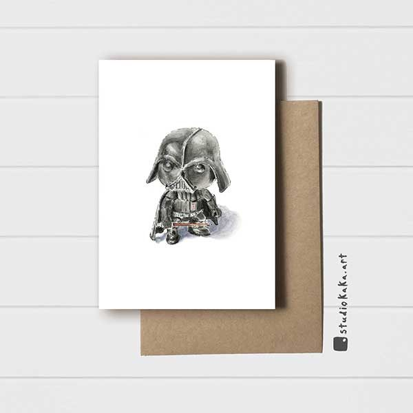 Star Wars Darth Vader Card