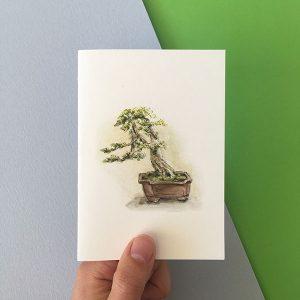 bonsia art card