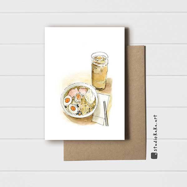 Ramen and Beer Card