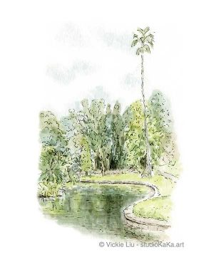 Royal Botanic Garden Oasis Art