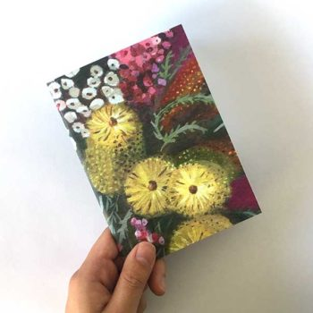 Australian Flower notebook