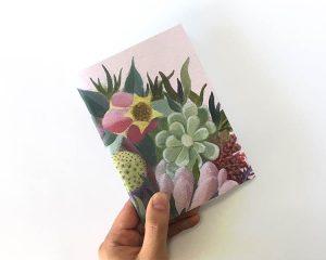Succulent Flower Sketch book