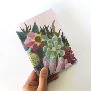 Succulent Flower Sketch book