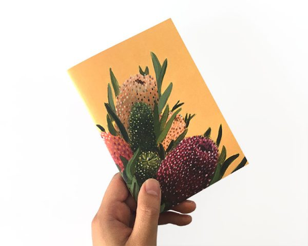 notebook australian floral