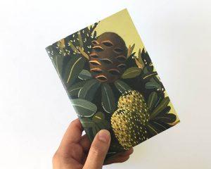 Notebook Green Banksia