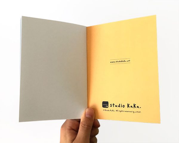 notebook yellow back inside cover
