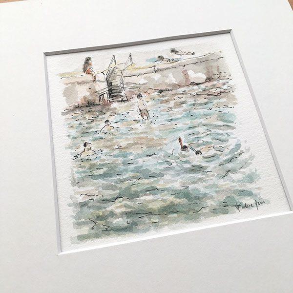 Clovelly Beach Painting