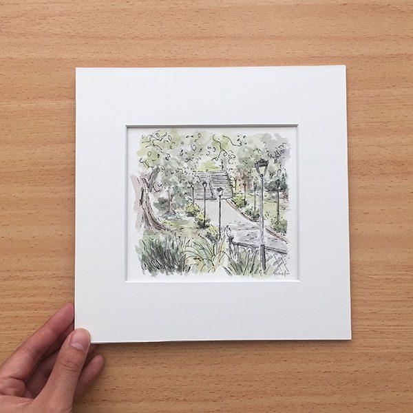Victoria Park Landscape Painting