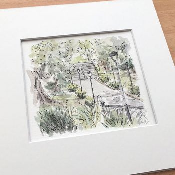Victoria Park Landscape Art