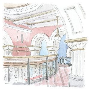 QVB original illustration