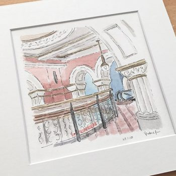 Queen Victoria Building Original Painting