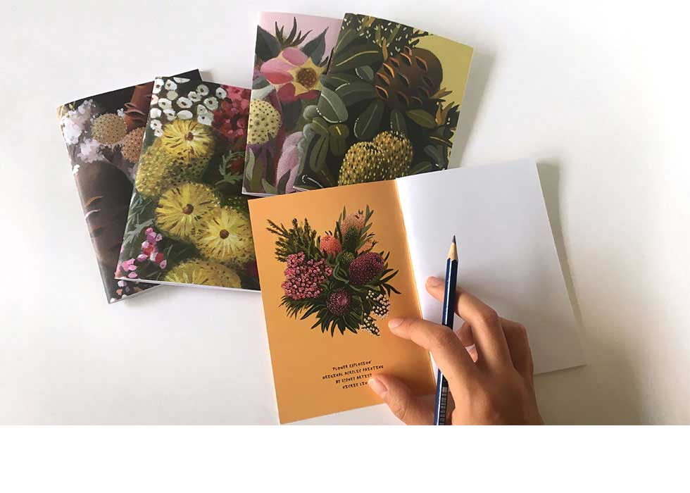 botanical stationery