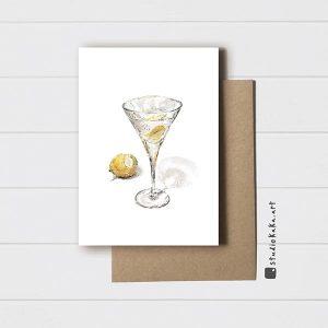 Vodka Martini Card