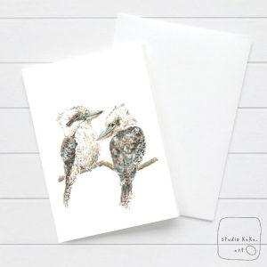 Kookaburra Bird Card