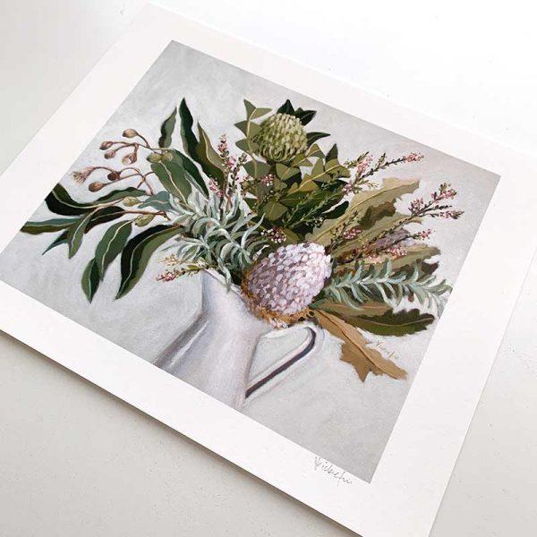 Australian Flower Art Print