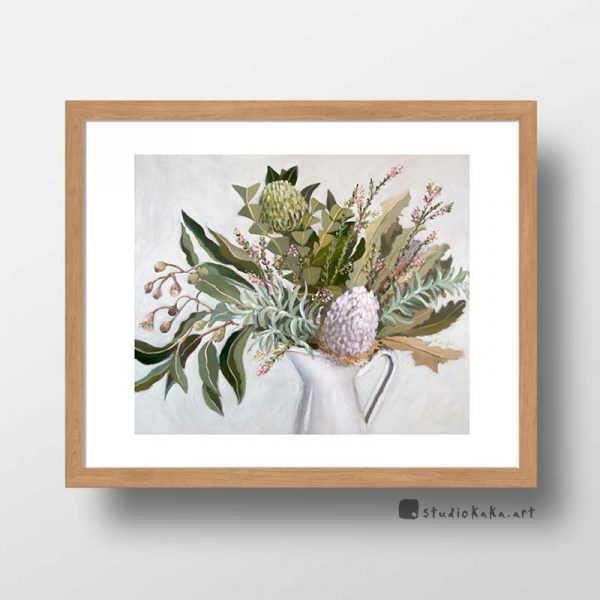 Wild Australian Flower Art Print