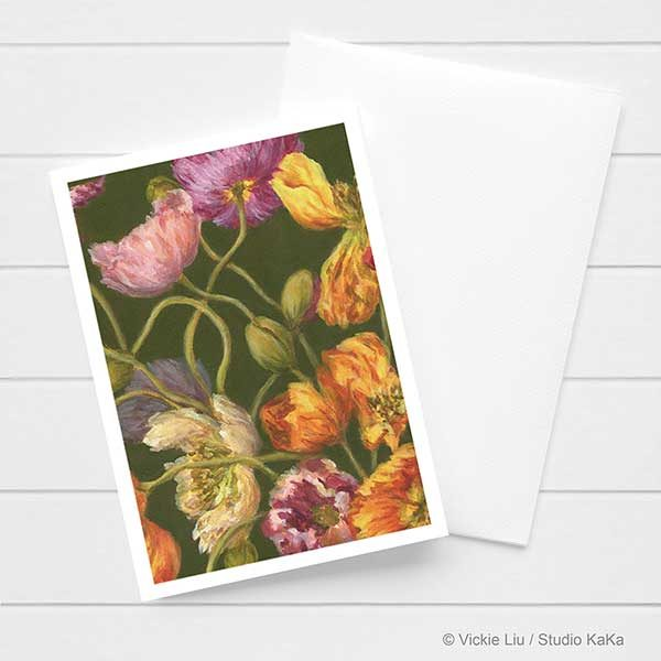 Spring Poppies Card