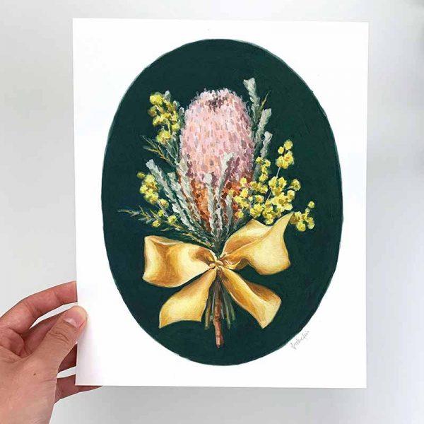 australian floral print
