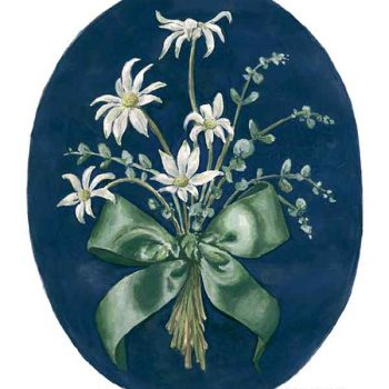 flannel flower print