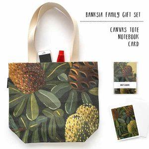banksia tote gift set