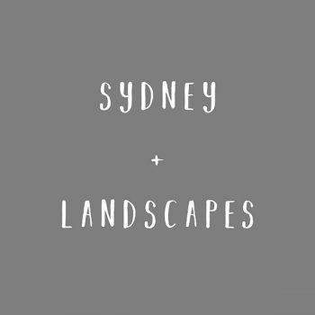 Sydney Landscapes (Sale)