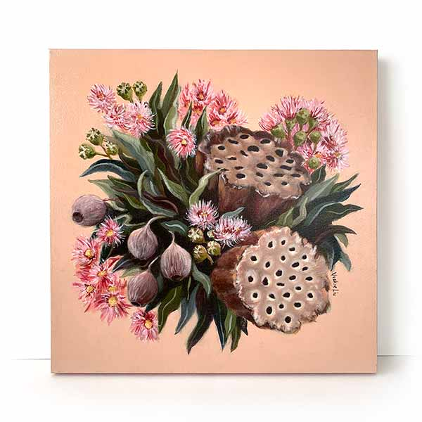 gumnut blossom painting