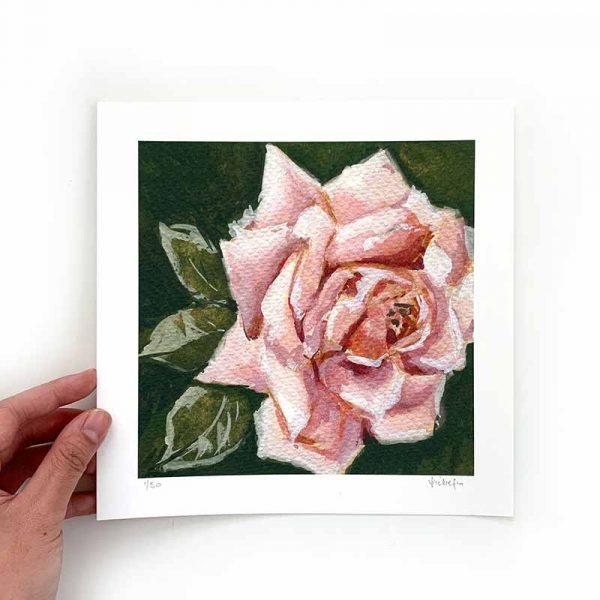 Light Pink Flower Art Print