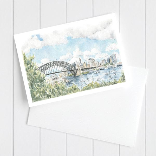 sydney skyline card