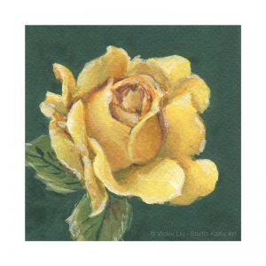 Yellow Rose Print No.1