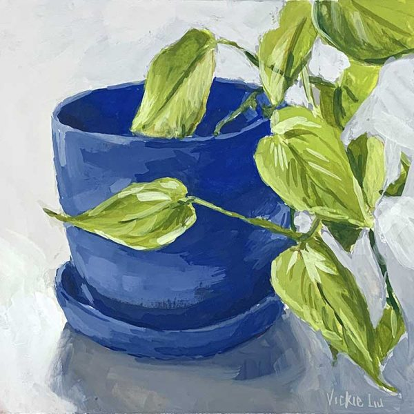 plant artwork