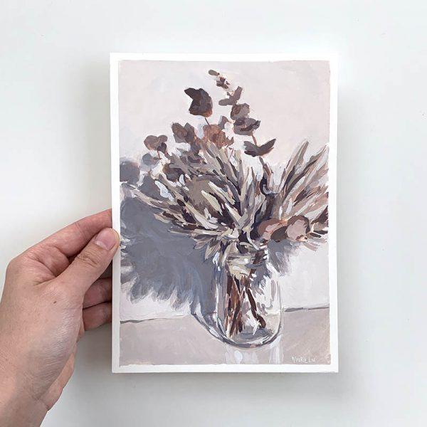 dried Australian natives original artwork