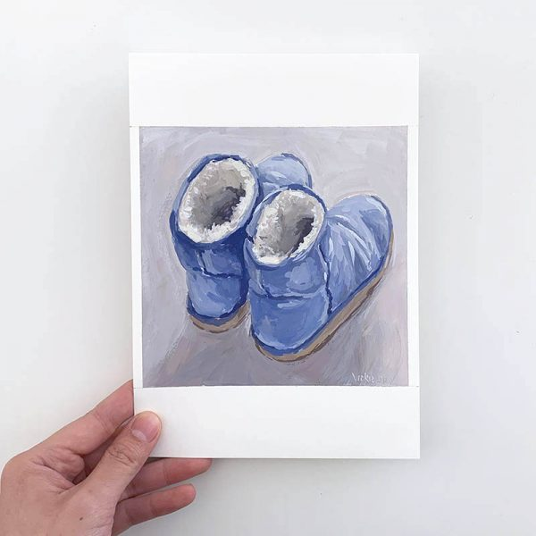 blue ugg artwork