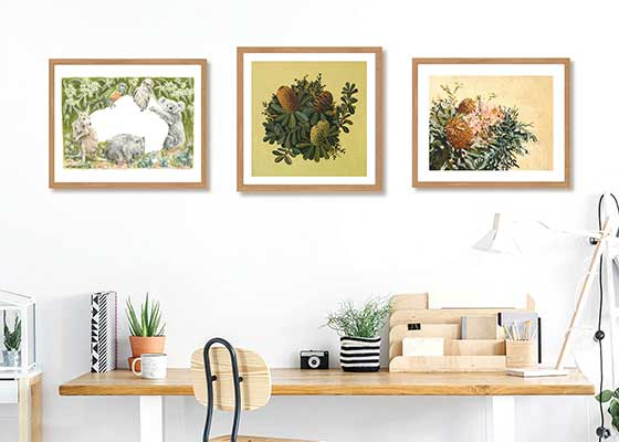 Botanical and Australian prints