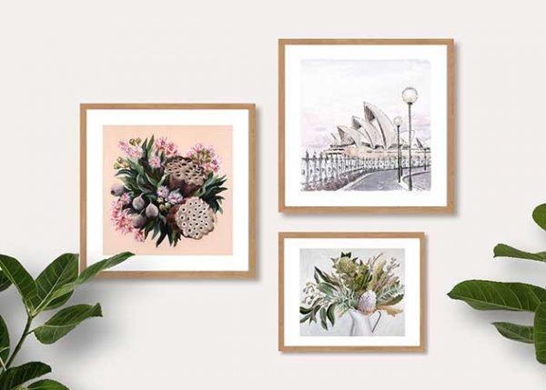 pastel colour prints