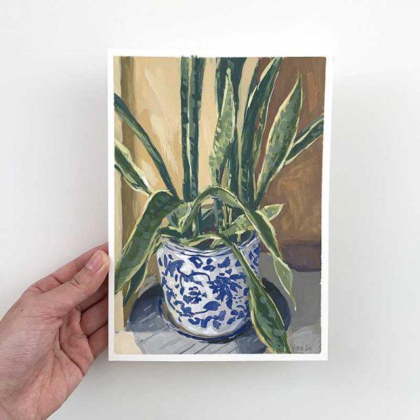 plant still life original artwork
