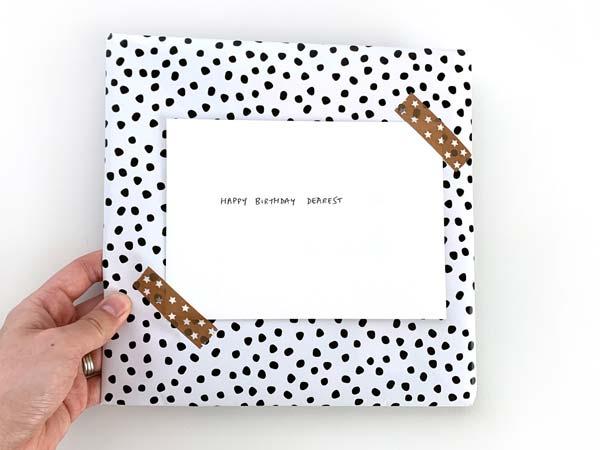 gift wrap order