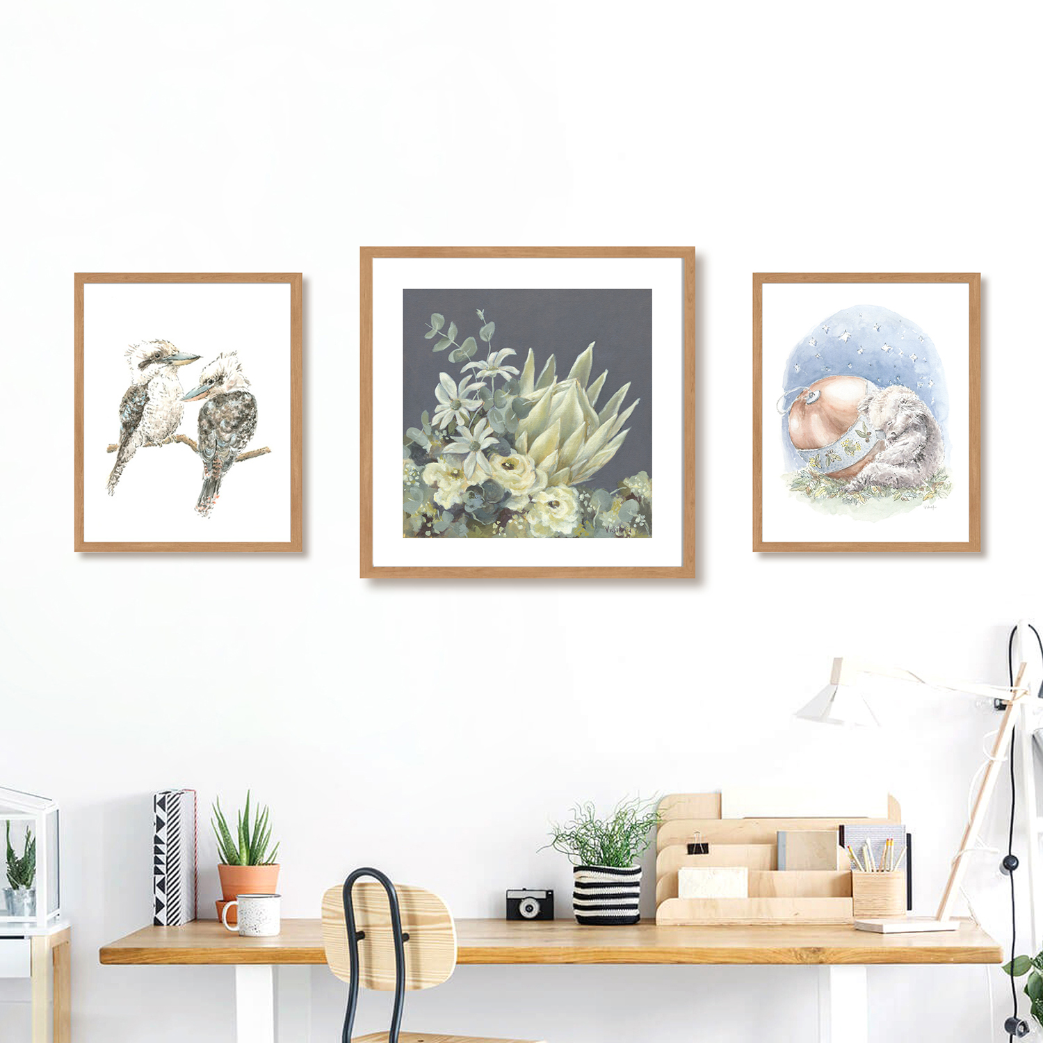 floral and watercolour prints