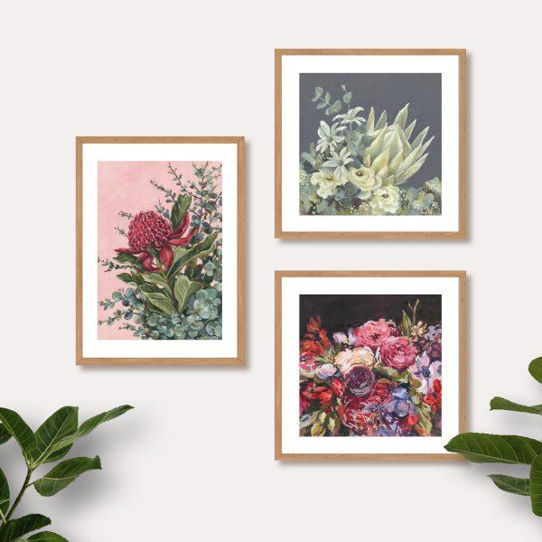 australian native botanical art prints