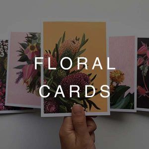 Cards - Floral Art (A6)