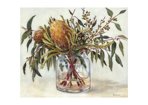 Autumn Australian Natives Art Print