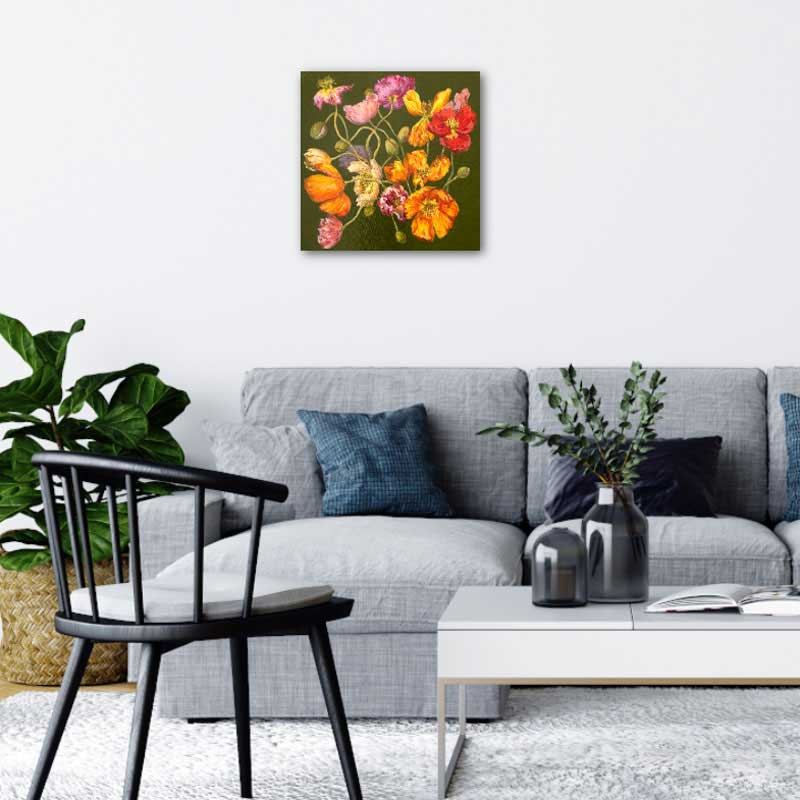 original canvas paintings & watercolour art