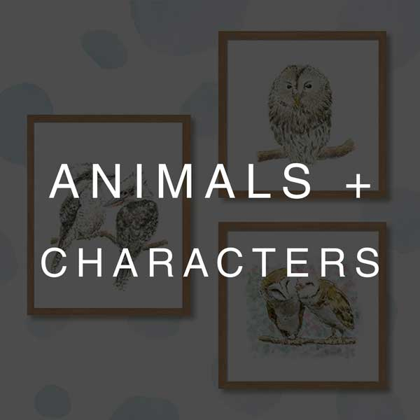 Animals & Characters