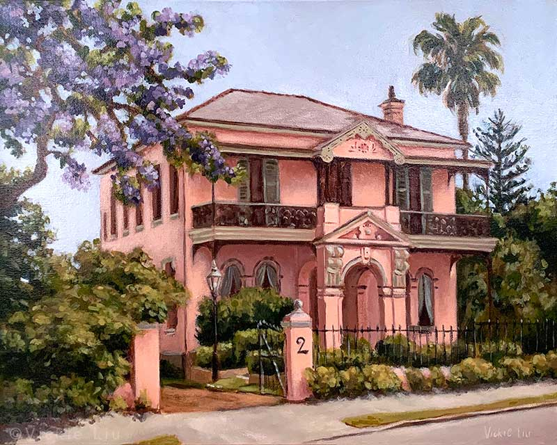 House Portrait Painting