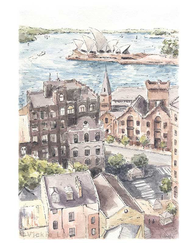 Sydney Landscape Painting